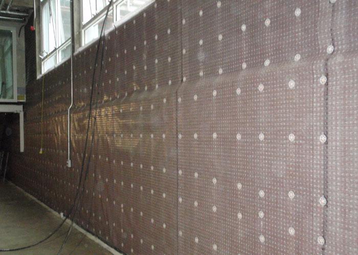 alfa img showing basement waterproofing membrane