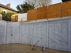 New build basement, Surrey