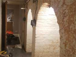 barrel-vault-waterproofing-london