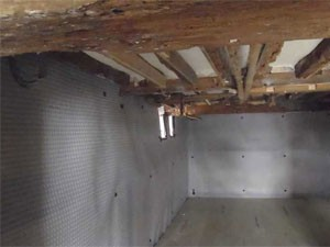farmhouse basement waterproofing