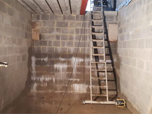new-build basement, Dunstable
